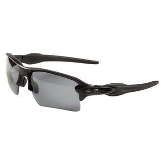 Oakley SI Flak Jacket 2.0 XL Matte Black Gray Polarized