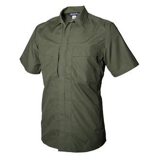 Vertx Phantom Ops Short Sleeve Tactical Shirt OD Green