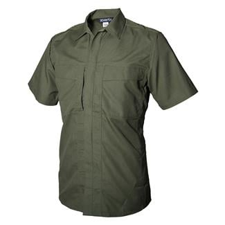 Vertx Phantom Ops Short Sleeve Tactical Shirt OD Green