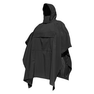 Hazard 4 Poncho Villa Technical Softshell Poncho Black