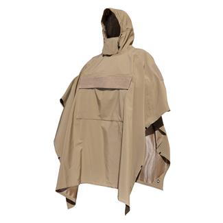 Hazard 4 Poncho Villa Technical Softshell Poncho Coyote