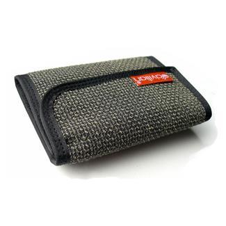 Hazard 4 Clip Tri-Fold Kevlar Wallet Gray