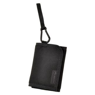 Hazard 4 Mil-Wafer Slim Tri-Fold Wallet Black