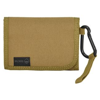 Hazard 4 Mil-Wafer Slim Tri-Fold Wallet Coyote