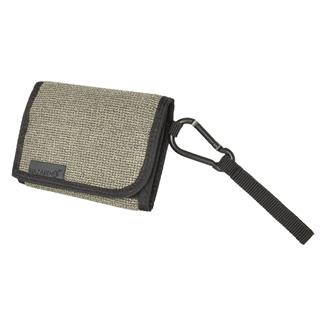 Hazard 4 Mil-Wafer Slim Tri-Fold Kevlar Wallet Gray