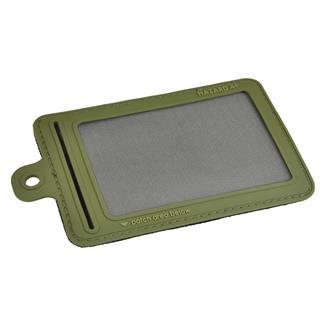 Hazard 4 Small ID Window Patch OD Green
