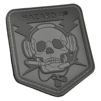 Hazard 4 Operator Skull Patch Black