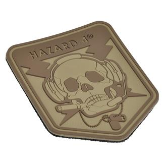 Hazard 4 Operator Skull Patch Coyote