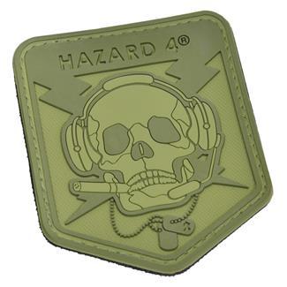 Hazard 4 Operator Skull Patch OD Green