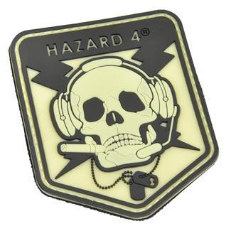 Hazard 4 Operator Skull Patch Glow in the Dark