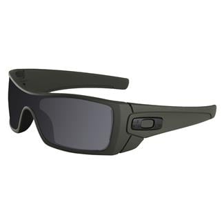 Oakley SI Batwolf Cerakote Mil Spec Green (frame) - Black Iridium Polarized (lens)