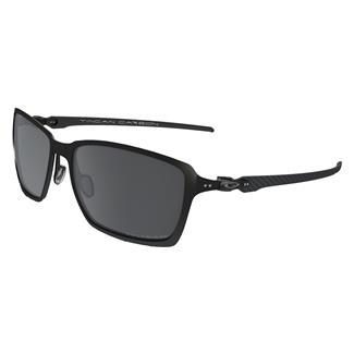 Oakley Tincan Carbon Satin Black (frame) - Black Iridium Polarized (lens)