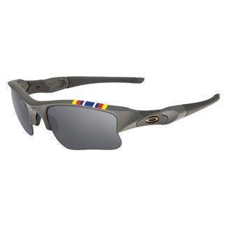 Oakley GWOT SI Flak Jacket XLJ Matte Onyx (frame) - Black Iridium (lens)