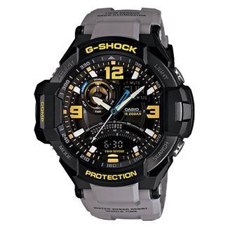 Casio Tactical Tactical G-Shock G-Aviation GA1000 Black Charcoal