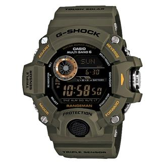 Casio Tactical Master of G Rangeman GW9400 Green