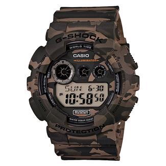 Casio Tactical XL Digital GD120CM Woodland Brown