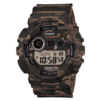 Casio Tactical XL Digital GD120CM Woodland Brown