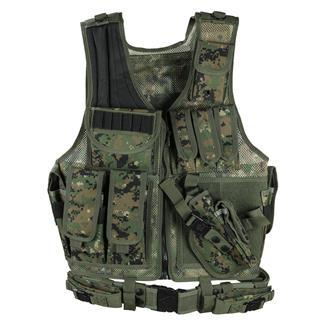 Leapers UTG 547 Law Enforcement Tactical Vest Woodland Digital
