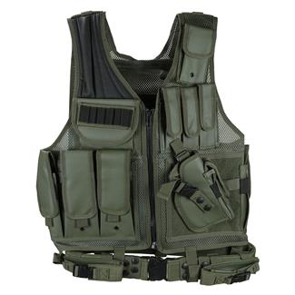 Leapers UTG 547 Law Enforcement Tactical Vest OD Green