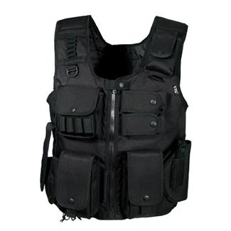 Leapers UTG Law Enforcement Tactical SWAT Vest Black