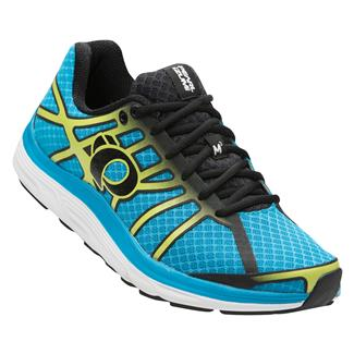 Pearl Izumi Road M3 v2 Blue Methyl / Lime Punch