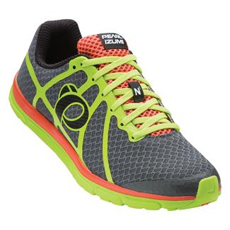 Pearl Izumi Road N1 v2 Shadow Gray / Lime Punch