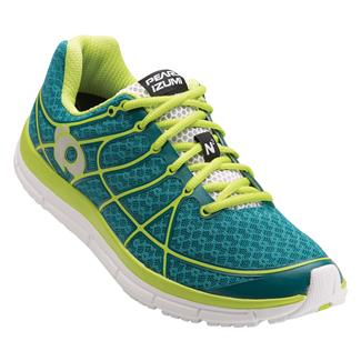 Pearl Izumi Road N2 v2 Deep Lake / Lime Punch