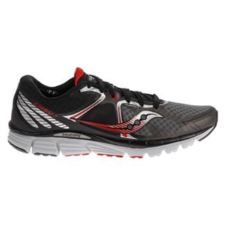 Saucony Kinvara 6 Black / Gray / Red
