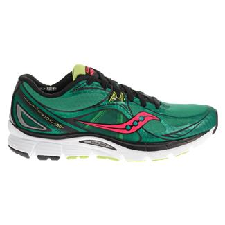 Saucony Mirage 5 Green / Coral