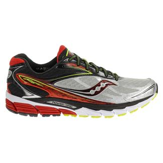 Saucony Ride 8 Silver / Red / Citron