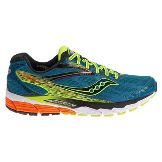 Saucony Ride 8 Deepwater / Citron / Orange