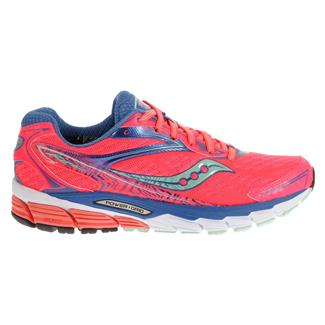 Saucony Ride 8 Coral / Blue / Sea