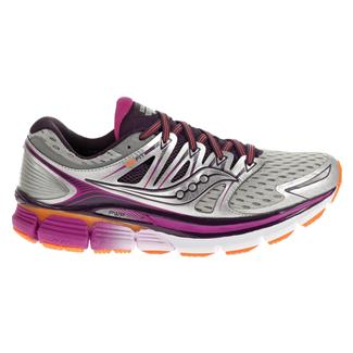 Saucony Triumph Iso Silver / Purple / Orange