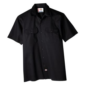 Dickies Original Fit Short Sleeve Work Shirt Black