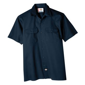 Dickies Original Fit Short Sleeve Work Shirt Navy