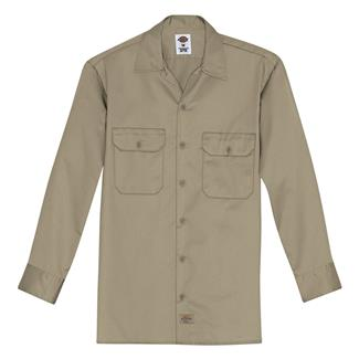 Dickies Original Fit Work Shirt Khaki