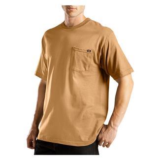 Dickies Moisture Wicking Pocket T-Shirt Brown Duck
