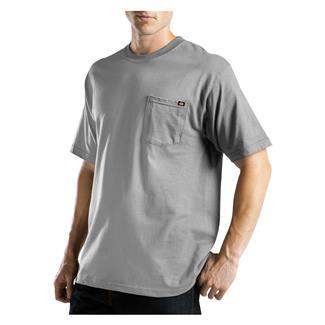 Dickies Moisture Wicking Pocket T-Shirt Heather Gray