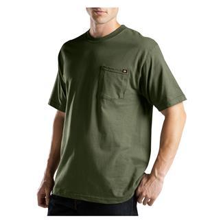 Dickies Moisture Wicking Pocket T-Shirt Moss Green