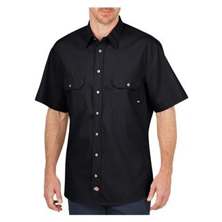 Dickies Short Sleeve Premium Industrial Mobility Shirt Black