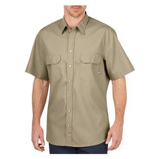 Dickies Short Sleeve Premium Industrial Mobility Shirt Desert Sand