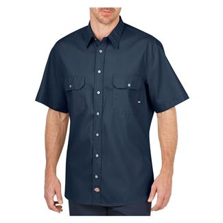 Dickies Short Sleeve Premium Industrial Mobility Shirt Navy