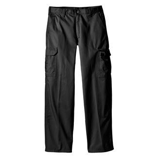 Dickies Loose Fit Cargo Pants Rinsed Black