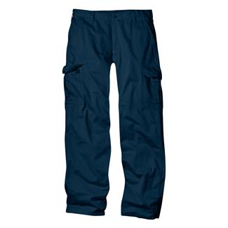 Dickies Loose Fit Cargo Pants Rinsed Dark Navy