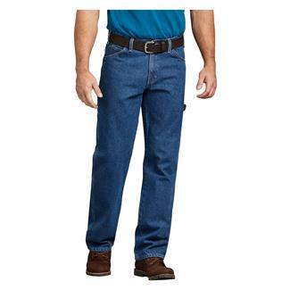 Dickies Relaxed Fit Denim Carpenter Jeans Stonewashed Indigo Blue