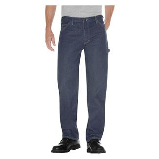 Dickies Relaxed Fit Denim Carpenter Jeans Tinted Rifle Green