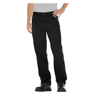 Dickies Relaxed Fit Duck Carpenter Jeans Rinsed Black