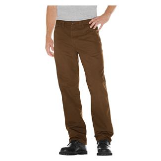 Dickies Relaxed Fit Duck Carpenter Jeans Rinsed Timber