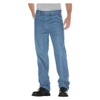 Dickies Relaxed Fit Denim Jeans Light Stone Wash