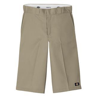 "Dickies 15"" Loose Fit Work Shorts Khaki"